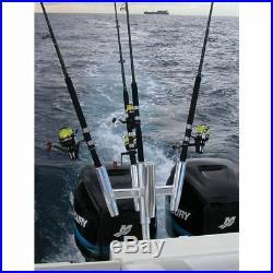 Tigress 88157 5 Banger Fishing multi Rod Holder Straight Butt Five Banger