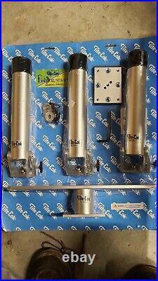 Tite- lock triple rod holder