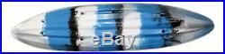 Vanhunks 12' Deluxe Voyager Family/Fishing Kayak + Paddles & Swivel Rod Holders