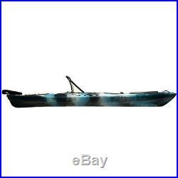 Vanhunks Black Bass 130 Fishing Kayak (inc. Seat, paddle and swivel rod holder)