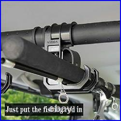 Vehicle Fishing Rod Holder, Heavy Duty Car Fishing Pole Rack for SUV LM51S