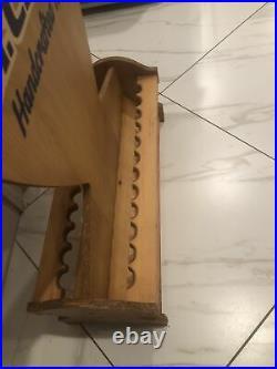 Vintage St. Croix Fishing Rod Rack / Holder Display (REPAIRED)