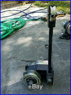 Walker Electric Downrigger with dual Rod Holders Stainless Line & Counter deep